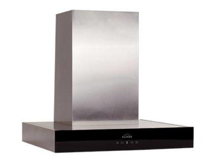 ELIKOR Агат 90 нержавейка-черное стекло